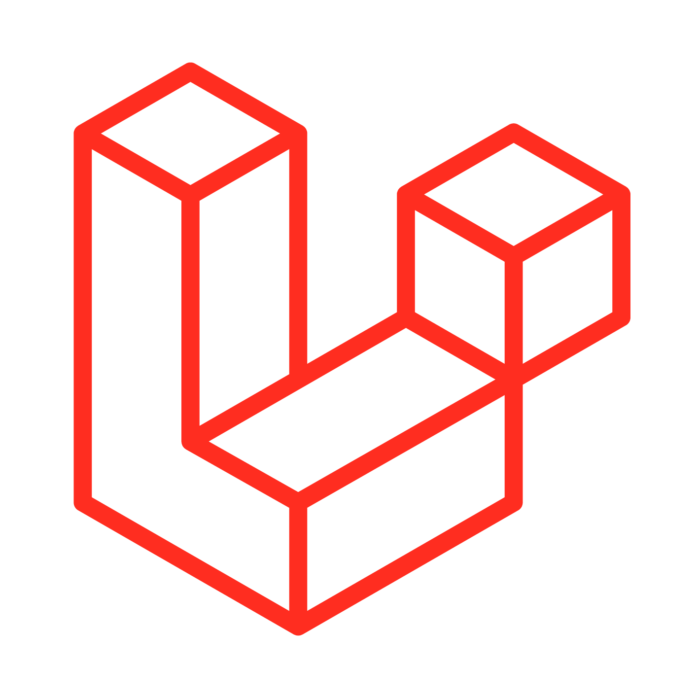 Preston Laravel web development logo
